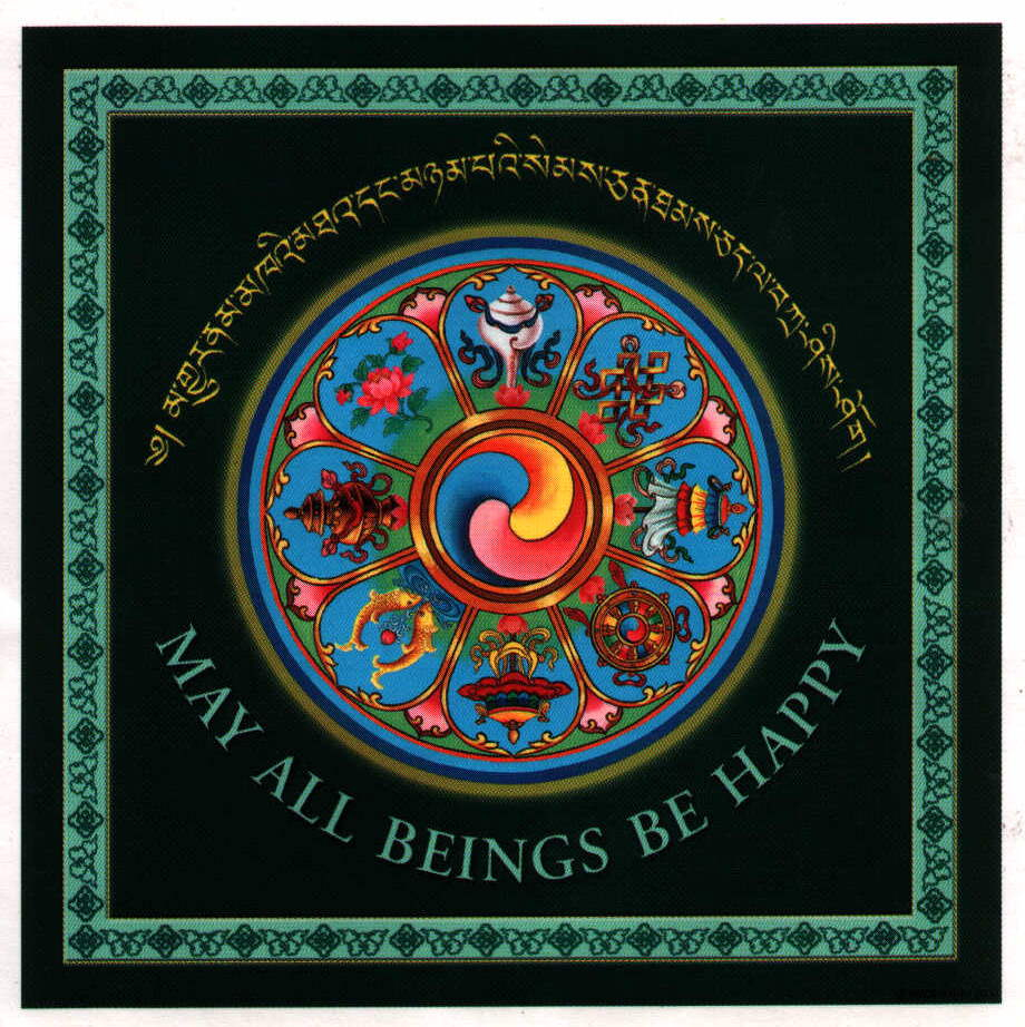 may all beings be happy !