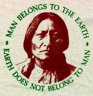 MAN BELONGS TO EARTH